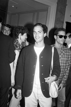 1990: Marc Jacobs attends the opening of our Men's Store on East 58th Street.