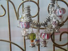 4 Hot Air Balloon Charms /  Pendants by apurplelily2 on Etsy, $10.00 This seems to be a favorite pattern in Tophatter.  <3 Thank you Tophatter!  I have the best customers!