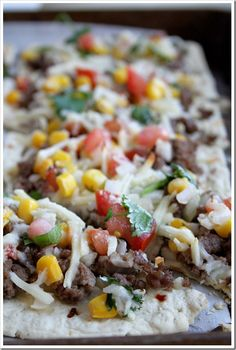 Zesty Mexican Pizza | Doughmesstic