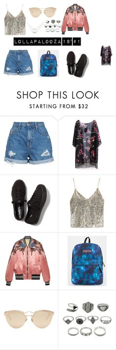 """first day (friday, march, 16)"" by fallwithjace on Polyvore featuring moda, Nobody Denim, Keds, Alice + Olivia, Gucci, JanSport, Christian Dior y Charlotte Russe"