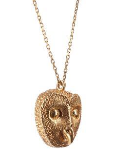 awesome owl pendant