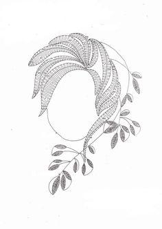 Podvinek 137 Lace Making, Lace Patterns, Bobbin Lace, Zentangle, Tatting, Diy And Crafts, Embroidery, How To Make, Yarns