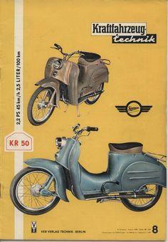 Simson KR 50 Werbeprospekte