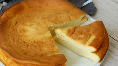 Tarta de queso al horno Healthy Pastry Recipe, Pastry Recipes, Pie Tops, Cheese Pies, Cornbread, Cheesecake, Food And Drink, Appetizers, Favorite Recipes