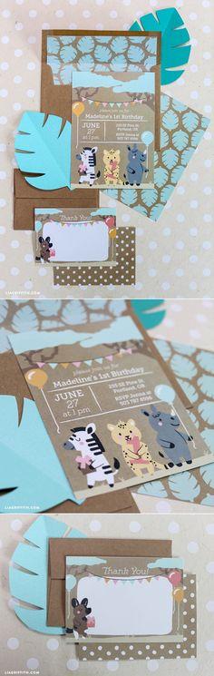#BirthdayParty #Invitations www.LiaGriffith.com
