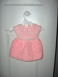 Crochet dress for Bitty Baby