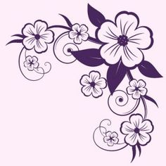 The Beauty of Japanese Embroidery - Embroidery Patterns Boarder Designs, Border Embroidery Designs, Hand Embroidery Patterns, Rock Crafts, Diy Arts And Crafts, Paper Flower Patterns, Doodle Designs, Flower Doodles, Japanese Embroidery