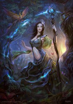 Forest Witch by AlexRaspad on DeviantArt