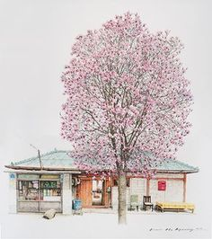 Artist Spends 20 Years Sketching South Korea's Little Convenience Stores