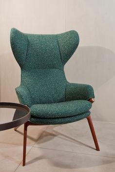 pilot textile on cassina chair photo patricia parinejad