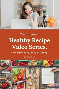 The ultimate in healthy recipes that are easy on the wallet and pallet! Healthy Recipe Videos, Easy Healthy Recipes, Whole Food Recipes, Vegetarian Options, Cheap Meals, Plant Based Diet, Food Videos, Pallet, Meal Planning