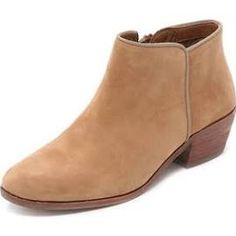 Shop for Petty Booties by Sam Edelman at ShopStyle. Tan Booties, Leather Booties, Short Heel Boots, Heeled Boots, Sam Edelman Boots, Chelsea Boots, Booty, Shoe Bag, Outfits 2016