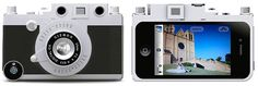 Case Turns your iPhone into Wannabe Laica Rangefinder