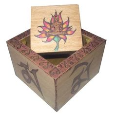 Caja Buda Decorative Boxes, Home Decor, Geek Crafts, Decorated Boxes, Buddha, Drawers, Hand Made, Decoration Home, Room Decor