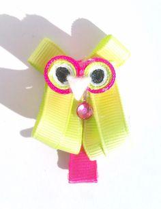 barrette Hibou so chic : Accessoires coiffure par p-tite-coquette