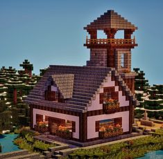 Things I Do On Minecraft — Town Project Recap #31 I forgot to upload this...