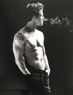 Mark Wahlberg. Don't like the smoking and wish he wouldn't have removed his tattoos, but none-the-less