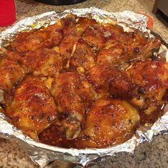 Baked Thai Chicken