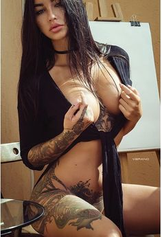 Better Send In The Inked Girls - An Ever Expanding Collection of Sexy Inked Babes Pics Tattoo Girls, Sexy Tattoos For Girls, Inked Girls, Girl Tattoos, Tattoos For Women, Tattooed Women, Woman Tattoos, Hot Lingerie, Pinup