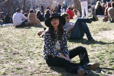 Off Duty, Washington Square Park