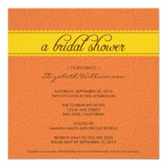 >>>Hello          custom Timeless Bridal Shower (orange/yellow) Custom Invite           custom Timeless Bridal Shower (orange/yellow) Custom Invite We provide you all shopping site and all informations in our go to store link. You will see low prices onShopping          custom Timeless Brid...Cleck Hot Deals >>> http://www.zazzle.com/custom_timeless_bridal_shower_orange_yellow_invitation-161450210356783138?rf=238627982471231924&zbar=1&tc=terrest