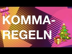 Kommaregelrap - YouTube Youtube, Homeschool, Calm, Grammar, Interesting Facts, Writing, Learning, Homeschooling, Youtubers