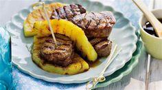 Szukasz przepisu na grillowany filet teriyaki? W Kuchni Lidla znajdziesz przepis na grillowany filet z ananasem!