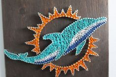 string art of a dolphin - Google Search