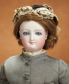 Remembering Mama: 251 French Bisque Smiling Poupee by Leon Casimir Bru