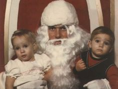 """""""Santa's about to have a complete mental breakdown. He's got the crazy-eye, as they say.""""- 10 Creepy Santas Whose Laps We Want Nothing to Do With"""
