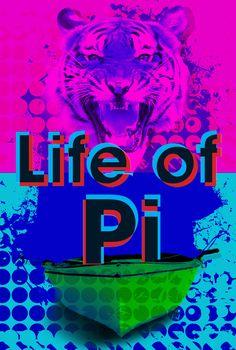 Life of Pi X Roy Lichtenstein    Oscar Pop! The 2013 Best Picture Nominees as Pop Art Posters {Shutterstock}