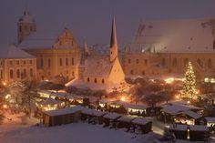 Christmas market - Erfurt, Germany.