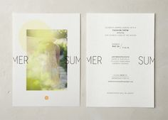 Summer Fashion Shows - Jenna McBride : Graphic & Interactive Design