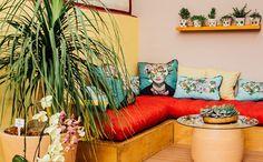 Precisando de ajuda para decorar a sua área externa? Inspire-se na galeria de fotos e adote as cores de Frida Kahlo na sua varanda - Mais cor, por favor - GNT