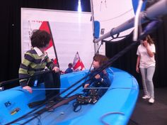 Jack and Harry Sailing 2015 Dinghy Exhibition Dinghy, Sailing, Bike, Gym, Sports, Jon Boat, Candle, Bicycle, Hs Sports