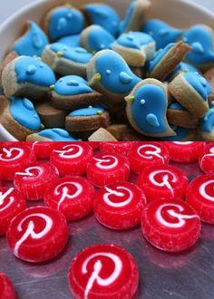 Caramelitos y galletitas de Pinterest, Twitter, #SocialMediaGeek