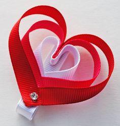 Cute Heart Hairclip