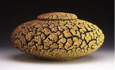 "ronulicny:  ""Yellow-Blackberry Fissure Jar"", 2008  By: RANDY..."