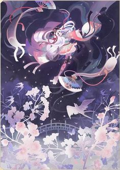 Character Concept, Character Art, Character Design, Geisha, Persona 5 Joker, Pattern Drawing, Asian Art, Illustrators, Chibi