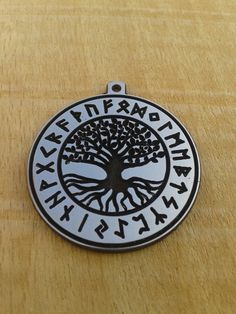 Yggdrasil Rune Necklace, Viking Necklace Tree of Life, Viking Pendant, Celtic World Tree, Norse Mythology, Asatru, Viking Jewelry,  nordic