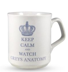 Grey's Anatomy - dude i want this cup.
