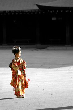 """Shichi-Go-San (七五三?, lit. """"Seven-Five-Three"""") is a traditional rite of passage and festival day in Japan for three- and seven-year-old girls and three- and five-year-old boys, held annually on November 15 to celebrate the growth and well-being of young children. As it is not a national holiday, it is generally observed on the nearest weekend."""