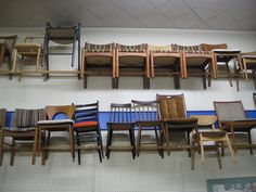 Mostly Danish Furniture. Danish Furniture, Hanging Chair, Conference Room, Workshop, Spaces, Table, Home Decor, Hammock Chair, Atelier