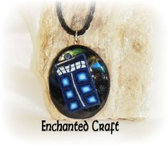 Doctor Who FAN TarDiS Locket perfect for your by EnchantedCraft, $29.00