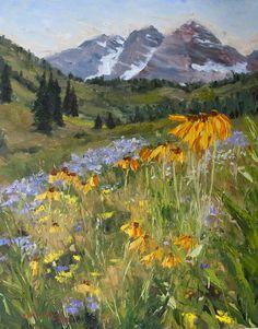 Original artwork from artist Kit Hevron Mahoney on the Daily Painters Gallery