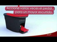 Cubo con pedal Easy Wring&Clean Vileda