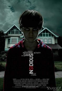 insidious - aunt got this yesterday should I watch it with her? im all for scary movies but this looks wayy too intense for me :/