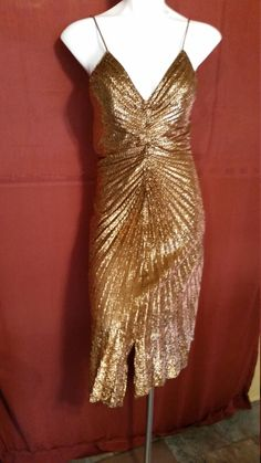 Hey, I found this really awesome Etsy listing at https://www.etsy.com/listing/222637863/cocktail-dressgold-dressvintage