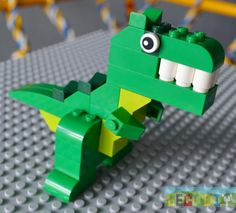 Dinosaur from instruction LEGO creative supplement). Legs: Step Body and tail. Final step: connect body and head together. Related posts:LEGO SantaLEGO TigerLEGO wild boarCippolino, or Little Onion from LEGO Dino Lego, Dinosaur Toys, Dinosaur Party, Dinosaur Birthday, Lego Design, Lego Creations Instructions, Lego Challenge, Lego Animals, Lego Club