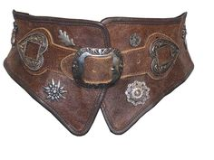 Leather belt from Germany - very cool!